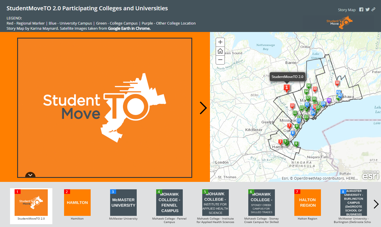 Image of Story Map.